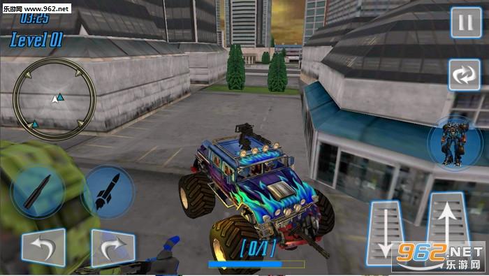 怪兽机器人超级英雄安卓版v1.0_截图2