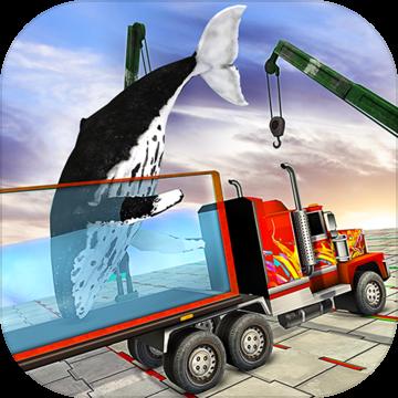 不可能的鲸鱼运输卡车驾驶安卓版