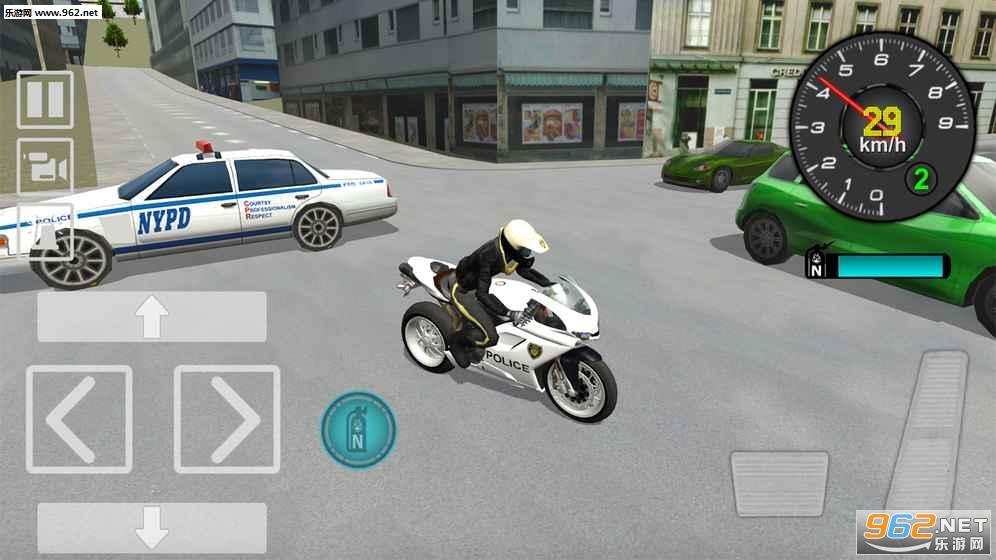 警用摩托车驾驶模拟器安卓版v1.0_截图