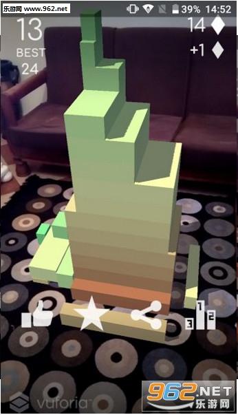 叠砖块AR安卓版v1.0.2截图1