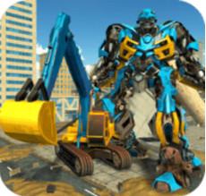 挖掘机变形机器人安卓版