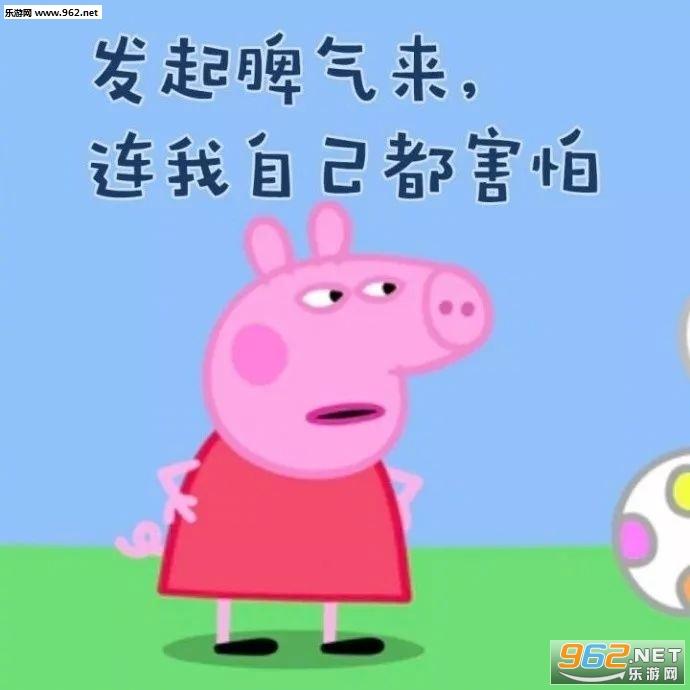 小猪佩奇表情包图片带字图片