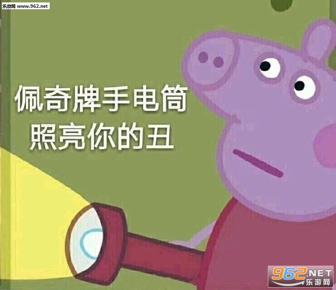 你可拉倒吧小猪佩奇表情|v可拉小猪佩奇抵制c图位表情包图片