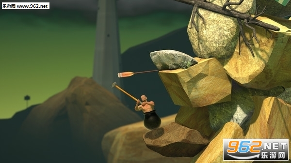 人坐在罐子里拿锤头爬山游戏v1.0_截图