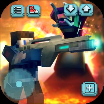 外太空生存游戏:外星人射击与建造3D安卓版