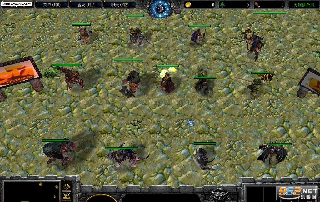 怪物大作战1.28正式版 附隐藏攻略魔兽地图截图1