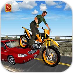 疯狂越野摩托车无限金币版