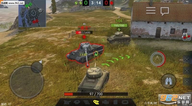 坦克世界闪击战安卓互通版v4.5截图1