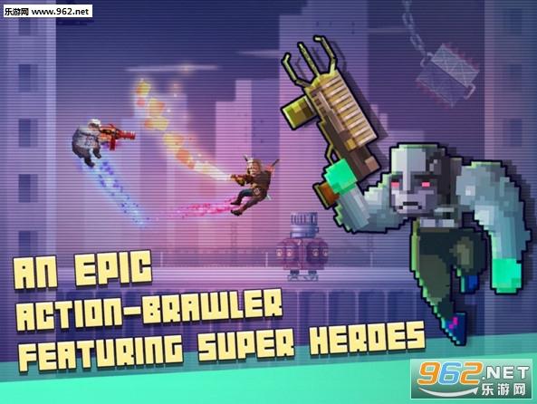 超级英雄搏击俱乐部破解版v1.05_截图1