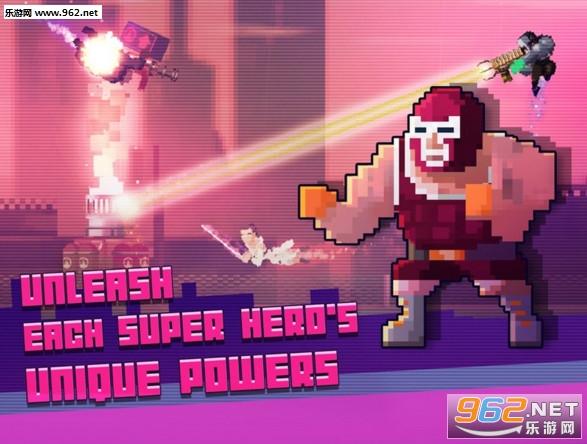 超级英雄搏击俱乐部破解版v1.05_截图2