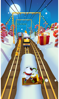 地铁跑酷1.8.2破解版圣诞版截图0