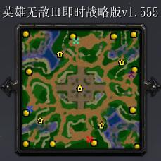 英雄无敌Ⅲ即时战略版1.555正式版 【P闪无CD/隐藏密码】