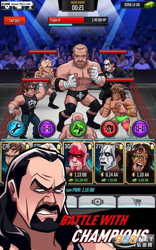WWE狂热摔跤破解版v16719.18.0_截图3