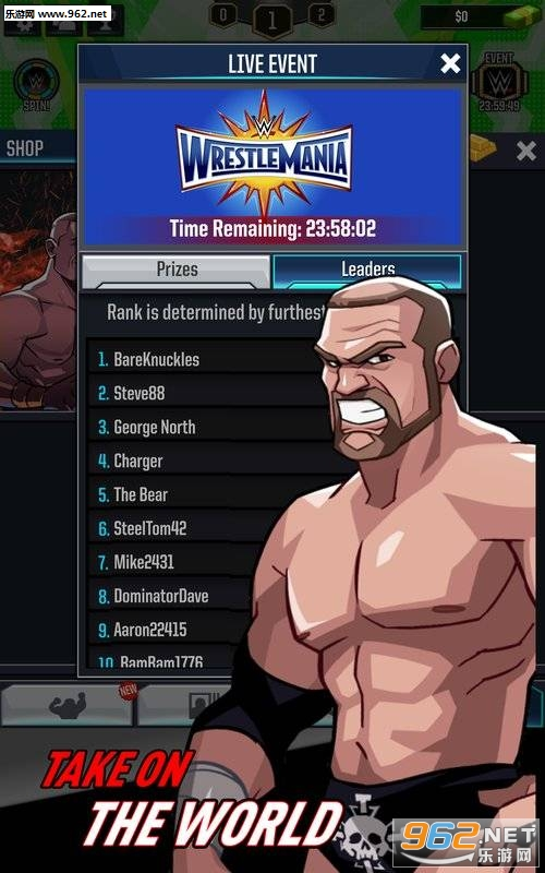 WWE狂热摔跤破解版v16719.18.0_截图0