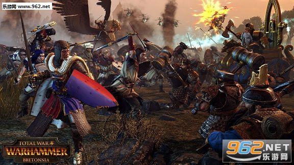 《全面战争:战锤》新势力巴托尼亚预告片 炫酷骑士登场