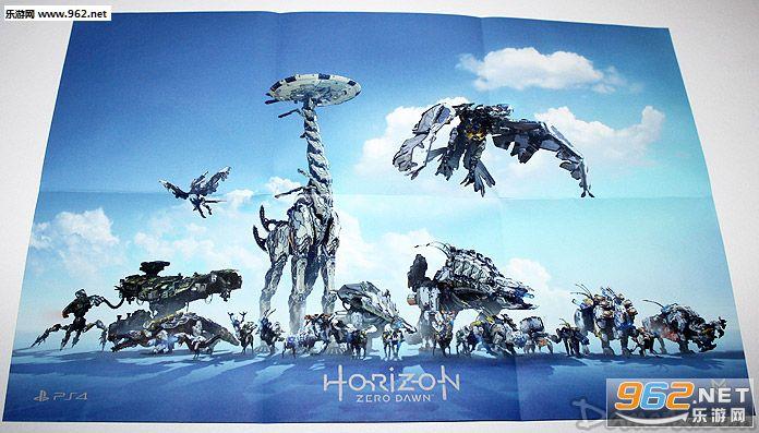 《地平线:零之黎明》宣传片海报曝光 22机械怪物出场