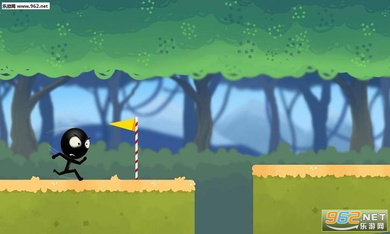 丛林奔跑的火柴人手游v1.0截图0