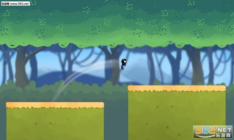 丛林奔跑的火柴人手游v1.0截图1