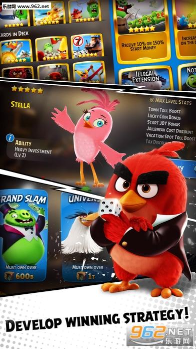 愤怒的小鸟大富翁苹果版1.1_截图3