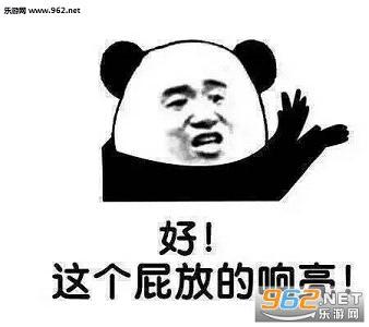 暴走熊猫嗨一嗨醒一醒表情v表情令表情包图片