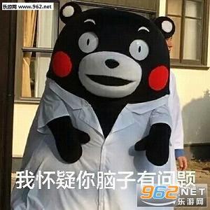 我怀疑你脑子有问题熊本熊表情包下载无水印