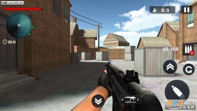枪手射击3D内购破解版v1.1_截图1