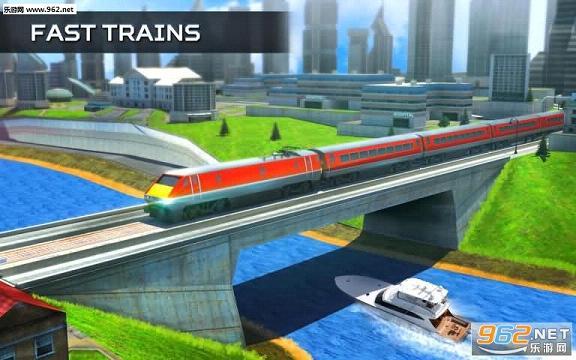 模拟火车2017手机版v2.0_截图