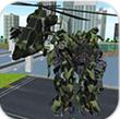 直升机变形机器机甲无限金币破解版
