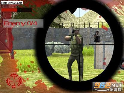 狙击手死亡射击IOS版v1.0_截图1