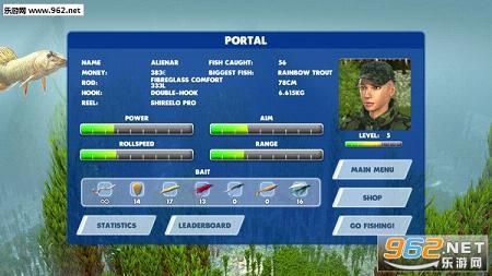 3D渔夫钓鱼截图0