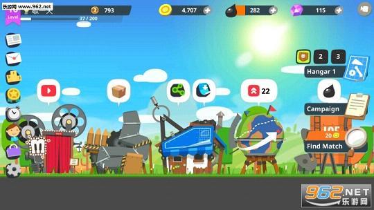 超级战车大作战中文版 超级战车大作战破解版下载 乐游网安卓下载
