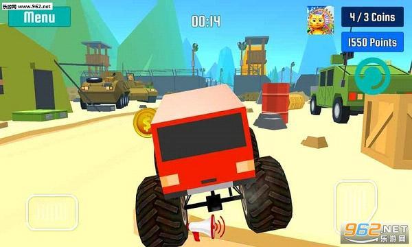 怪物卡车特技速度竞赛手游v1.0_截图0