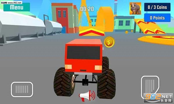 怪物卡车特技速度竞赛手游v1.0_截图1