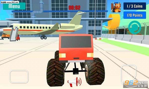 怪物卡车特技速度竞赛手游v1.0_截图2