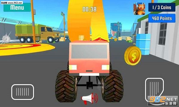 怪物卡车特技速度竞赛手游v1.0_截图3