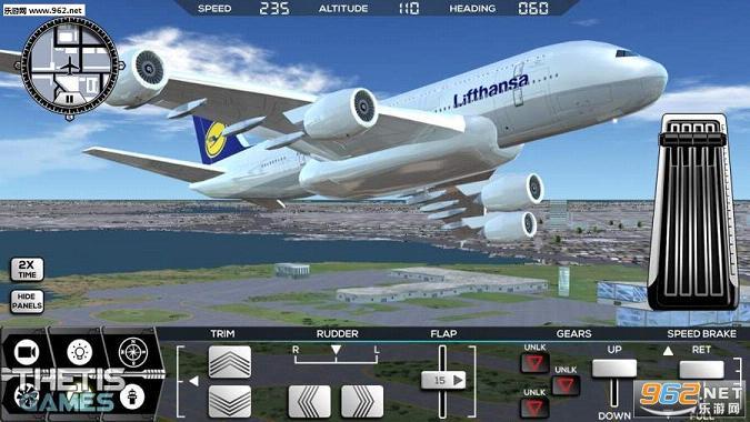 飞机,游戏画面逼真,适合喜欢模拟驾驶类爱好者尝试