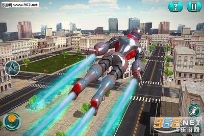 超级英雄飞行机器人救援中文版v1.0_截图