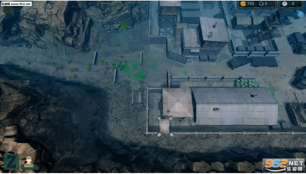 僵尸入侵:塔防英文版截图1