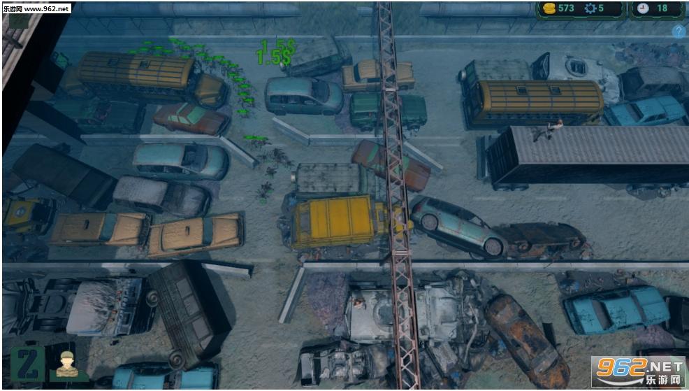 僵尸入侵:塔防英文版截图2