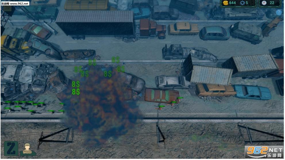 僵尸入侵:塔防英文版截图4