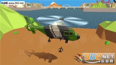 1         1,在游戏中,玩家需要模拟驾驶方块直升飞机;         2