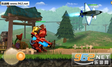 畅爽机甲格斗,燃爆战斗热血 游戏由《熊出没》动画正版授权,完美的呈现出了原版动画角色的特点。同时环环相扣的冒险关卡设定和电影级画面的大型3D场景,必定让玩家体验到前所未有的机甲格斗快感! 简单的指尖操作,完美的游戏体验 游戏的操作十分简单,但是丰富的游戏元素却使玩家大呼过瘾。