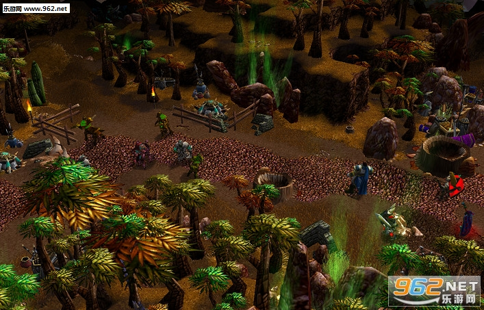 魔兽地图 文明冲突第三卷戈武之壁v1.1隐藏密码截图1