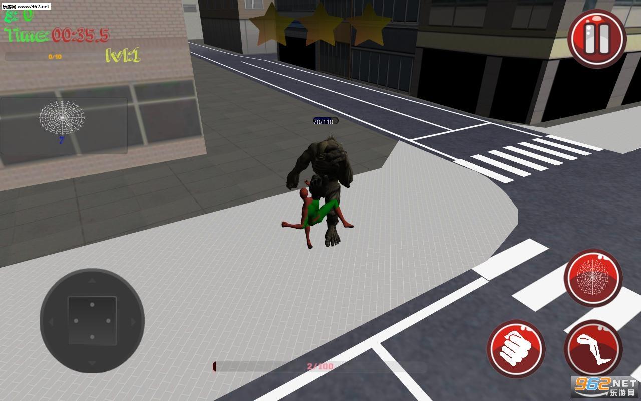 蜘蛛侠2:人的秩序手游v1.01_截图0