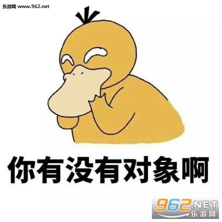 你有没有表情啊可达鸭表情say+no的对象包图片