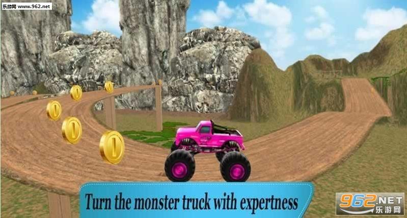 4X4怪物卡车爬山中文破解版v1.0_截图0