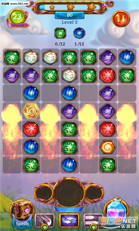 魔法粉碎匹配3宝石破解版v1.2.5_截图0