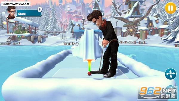 无限迷你高尔夫(Infinite Mini Golf)高品质卡通画风golf游戏截图3
