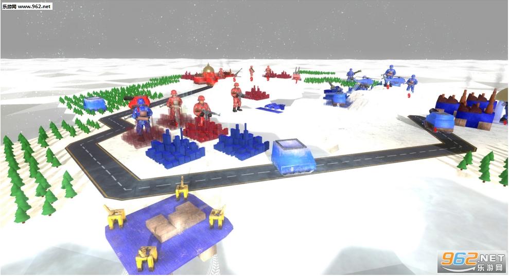 战争起源:毁灭之战类全面战争模拟器截图1
