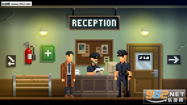 黑暗侦探像素复古解谜游戏截图1